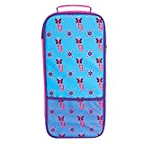 Journey Girls Doll Carrier with Straps for 18 Inch Dolls, Blue and Pink, Side Zipper, Amazon Exclusive