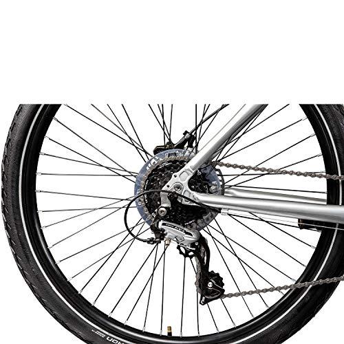 Galano Tandem Fahrrad 26 Zoll Mountainbike Nashville 24Gang MTB Hardtail Fahrrad (schwarz/grau, 53/46 cm) - 4