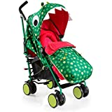Cosatto Supa 2018 Baby Stroller, Suitable from Birth to 25 kg, Dino Mighty