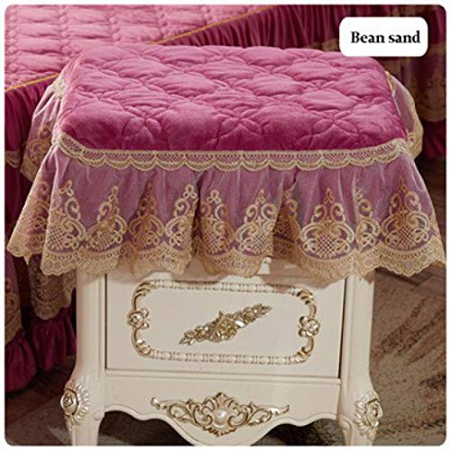 Bedside Table Skirt Decorative Table Cloth Table Dust Cover All-inclusive Table Towels