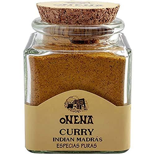 Onena Curry De Madrás Especias Polvo - 50 g