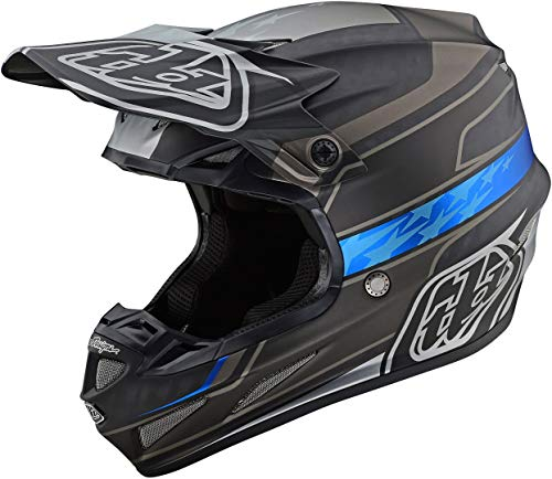 Troy Lee Designs SE4 Carbon Motocross Casco Speed - Negro/Gris (L)