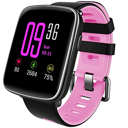 YAMAY Smartwatch Fitness Tracker Android iOS Impermeabile IP68 Uomo Donna...
