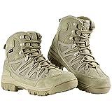 FREE SOLDIER Stivaletti tattico Mid High Rise Scarpe da Trekking Invernali...