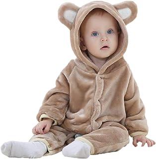 para beb/é y ni/ña de 0 meses a 18 meses Mono con capucha para Halloween Herqw61