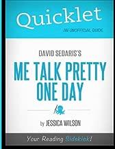 Quicklet - David Sedaris's Me Talk Pretty One Day