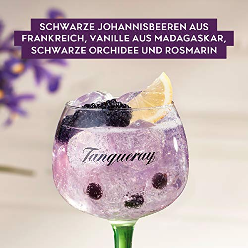 Tanqueray Blackcurrant Royale Distilled Gin – Ideale Spirituose für Cocktails oder Gin Tonic – 1 x 0,7l - 6