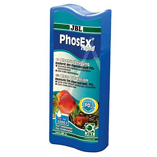 JBL PhosEx rapid 250ml, Traitement anti-phosphates pour aquarium d'eau douce