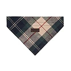 Colour: Tartan, Brown Features Barbour for Land Rover branding 100% Cotton Genuine Land Rover GEAR Small / Medium (20cm approx width)