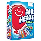 Airheads Bars, Chewy Fruit Taffy Candy, Variety Pack, Back to School for Kids, Non Melting, Party 90 Count (Packaging May Vary)