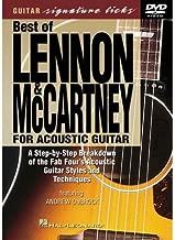 Best of Lennon & McCartney for Acoustic Guitar Signature Licks