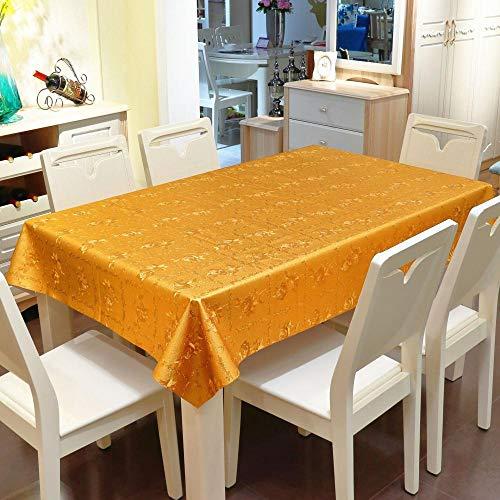 Dthlay Tafelkleed van pvc, voor tuintafel, warmte-pregend tafelkleed, waterdicht en oliedicht, stofdicht tafelkleed van de tv-kast