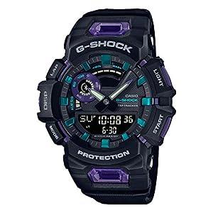 """[カシオ] 腕時計 ジーショック 歩数計測 Bluetooth 搭載 GBA-900-1A6JF メンズ ブラック"""""""