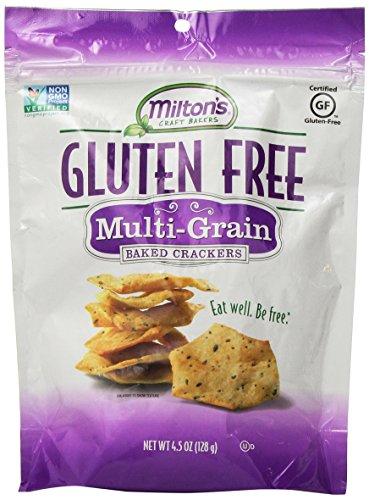 Milton's Craft Bakers Gluten-Free Baked Crackers, Multi-Grain, 4.5 Ounce