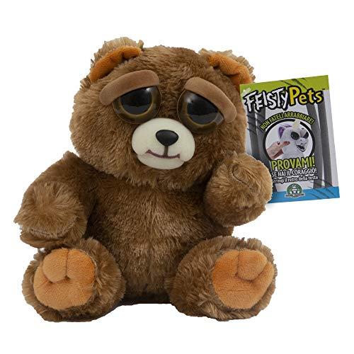 Giochi Preziosi Feisty Pets Peluche Orso Bruno, 25 cm