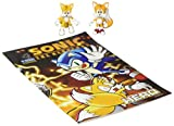 Sonic Classic Tails & Modern Tails with Comic Book, Yellow