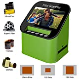 Film Scanner with 22MP High Resolution Slide Scanner Converts 35mm, 110 & 126