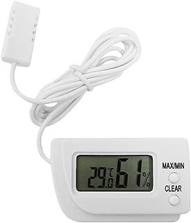 Fonction de mémoire LCD Digital Egg Incubator Thermomètre Hygromètre Remote Meter (White)