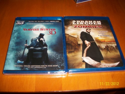 Abraham Lincoln Vampire Hunter 3D & Abraham Lincoln vs. Zombies