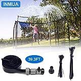 INMUA Trampolin Sprinkler, Outdoor Trampolin Wasserpark Sprinkler, Summer Water Fun Sprayer für Jungen Mädchen (12M / 39.3FT)