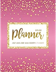July 2019-June 2020 Academic Planner: Two Year - Daily Weekly Monthly Calendar Planner For To do list Planners And Academic Schedule Agenda Logbook & ... Rose Pink Gold Design (2019-2020 planner)