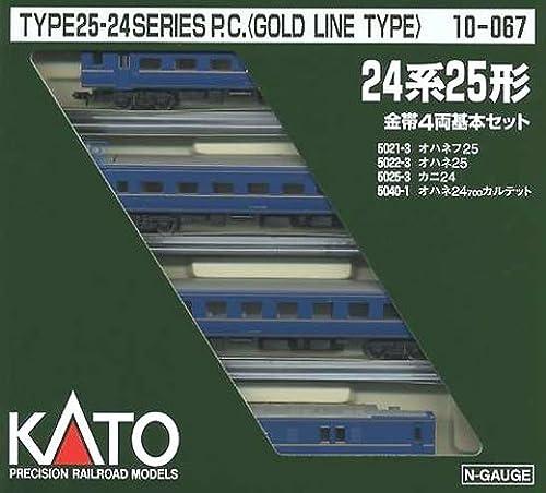 Spur N 10-067 24 Typ Goldband einfach (4 Autos)