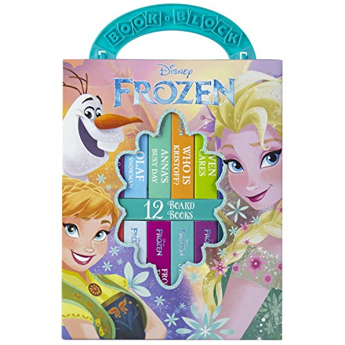 Disney - Frozen My First Library Board Book Block 12-Book Set - PI Kids