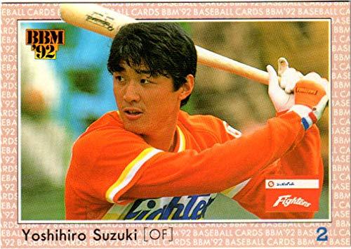 BBM1992 ベースボールカード レギュラーカード No.373 鈴木慶裕
