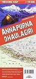 terraQuest Trekking Map Annapurna & Dhaulagiri