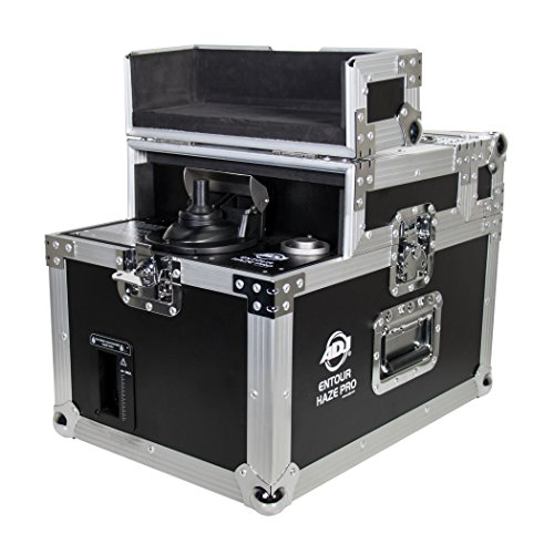 ADJ Products Professional Grade Machine with Built-in Flight case. Uses Oil Based Haze Fluid. (ENTOUR PRO)