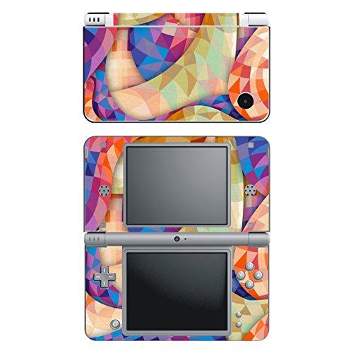 Disagu SF-14649_1231 Design Schutzfolie für Nintendo DSi XL Motiv Abstrakt 02