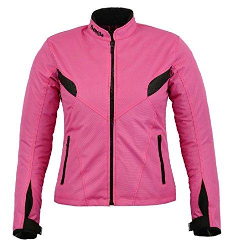 Bangla Damen Motorradjacke B-03 Touren Jacke Textil Pink XXXL
