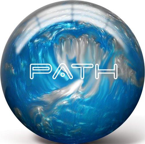 Pyramid Path Bowling Ball (Aqua/Silver, 8LB)