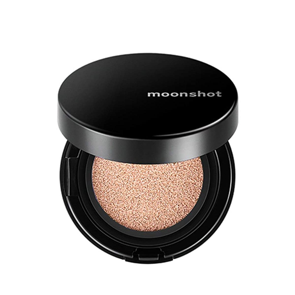オーストラリア穀物鈍いムーンショット(moonshot) ブラックピンク マイクロフィットクッションファンデ 201