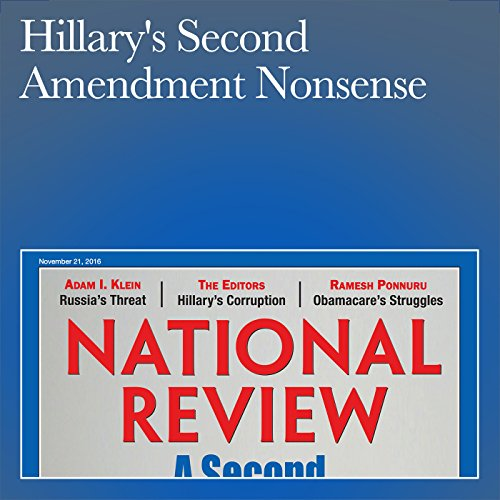 Hillary's Second Amendment Nonsense audiobook cover art