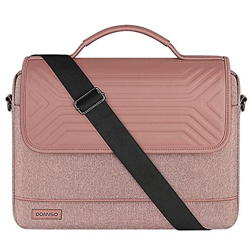 DOMISO 15-15,6 Zoll Wasserdicht Laptop Tasche Aktentasche Schultertasche Notebooktasche für 15.6