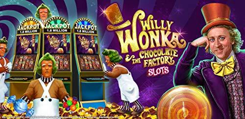 『『Willy Wonka Slots』は無料のVegas Casinoゲーム』のトップ画像