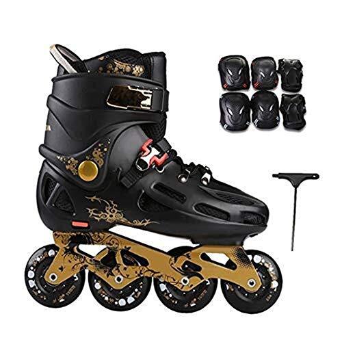 Patines en Línea Patines De Los Hombres, Inline Roller Skates Mayor, Patines...