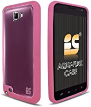 Hybrid TPU Skin Cover for Samsung Galaxy Note (GT-N7000 & i717), Pink/Pink