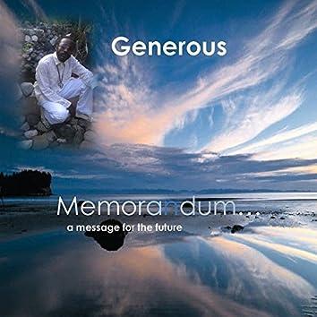 MEMORANDUM... A Message For The Future