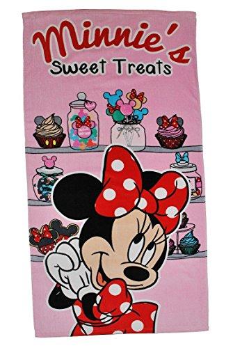 Minnie Mouse handdoek cupcake Sweet Treats strandlaken Disney Towel badhanddoek voor kinderen