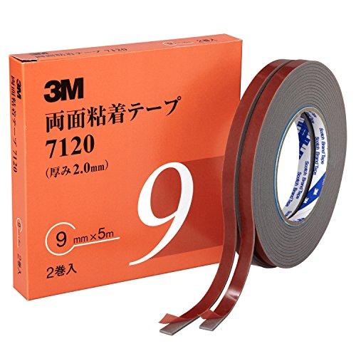 3M 両面粘着テープ 7120 9mm幅x5m 7120 9 AAD