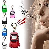 sfdeggtb Mini Dog GPS Tracking Device, Car Shape Portable Bluetooth Intelligent Anti-Lost Device for Luggages/Kid/Pet Bluetooth Alarms New Model (Blue)