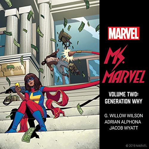 Ms. Marvel, Vol. 2: Generation Why Titelbild