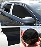 VViViD Colorful Transparent Vinyl Car Window Tinting 30 Inch x 60 Inch...