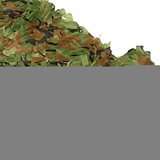 Image of NING Shade Camo Netting Outdoor Camping Military Camouflage Hunting Blinds Decoration Jungle Camouflage Net 4m4m/5m5m/6m6m/8m8m