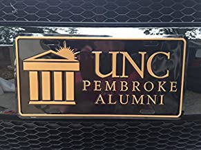 Automotive Advertising Associates, Inc. University of North Carolina at Pembroke Alumni License Plate
