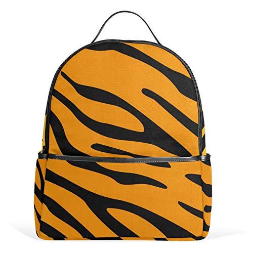 JinDoDo - Zaino per la scuola con animali tigre, stile casual, per ragazze, ragazzi, ragazzi, adolescenti