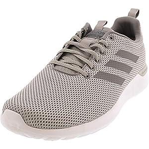 adidas Mens Lite Racer CLN Knit Cloudfoam Running Shoes Gray 10 Medium (D)