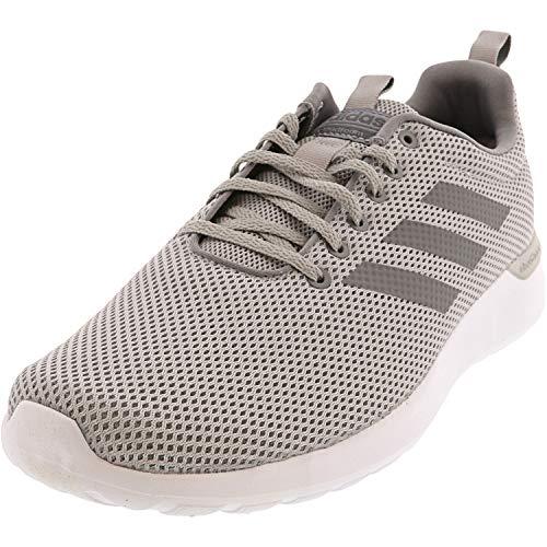 adidas Men's Lite Racer CLN Running Shoe (Grey/Grey/White, Numeric_11)